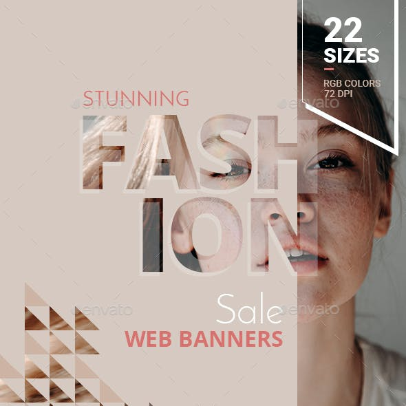 Fashion Sale Web Banners