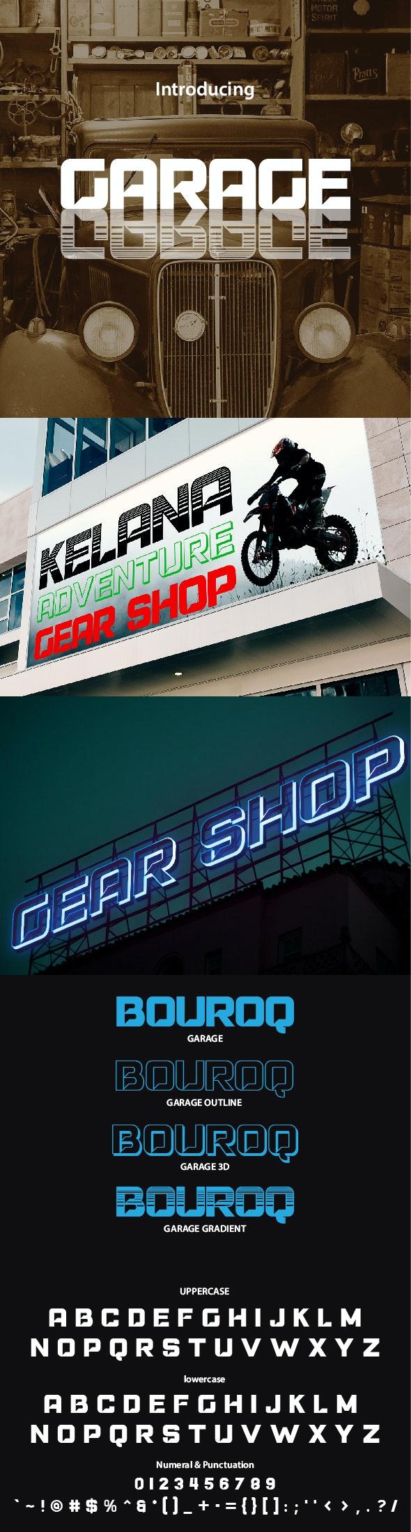 Garage - Sans-Serif Fonts