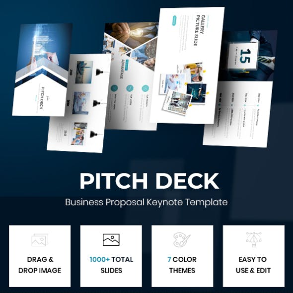 Pitch Deck - Business Proposal Keynote Template