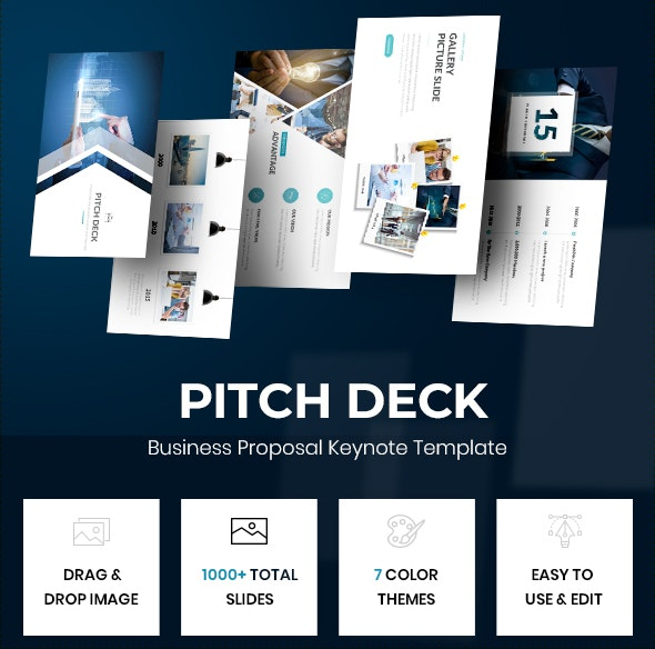 Pitch Deck - Business Proposal Keynote Template - Business Keynote Templates