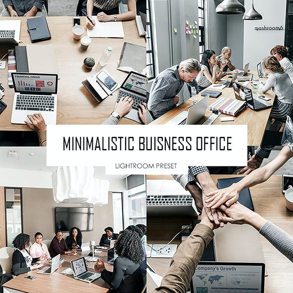 Minimalistic Business Office Lightroom Preset