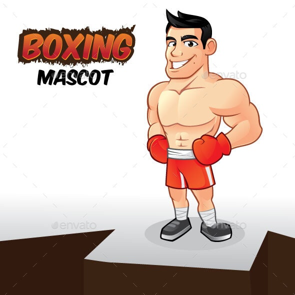 Boxing Mascot - People Characters
