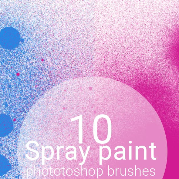 10 Spray Paint Brushes