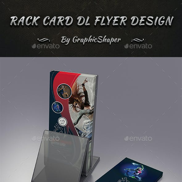 Rack Card DL Flyer Design