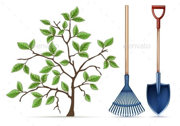 Gardening Equipment Tools - Flowers & Plants Nature