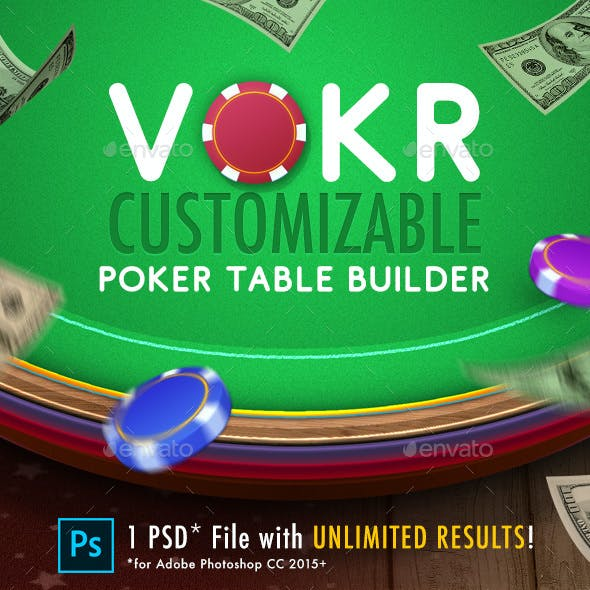 Vokr: Poker Table Builder