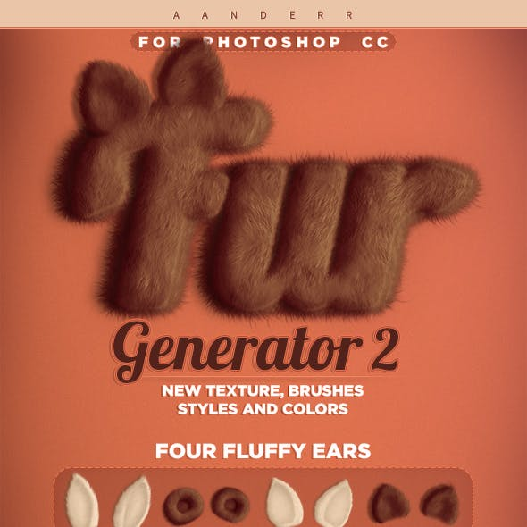 Fur Generator 2 Photoshop Action