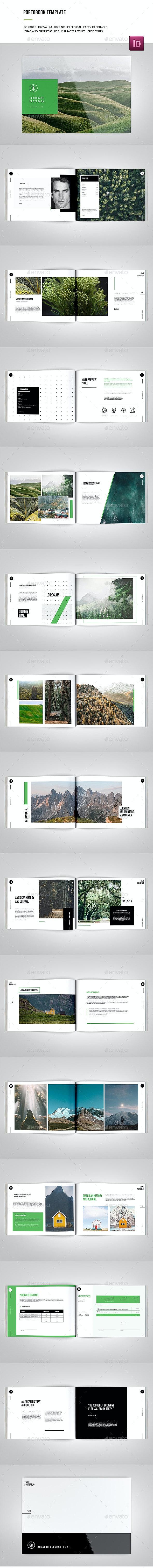 Porfofolio Template - Portfolio Brochures