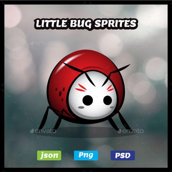 Little Bug Sprites Game Asset