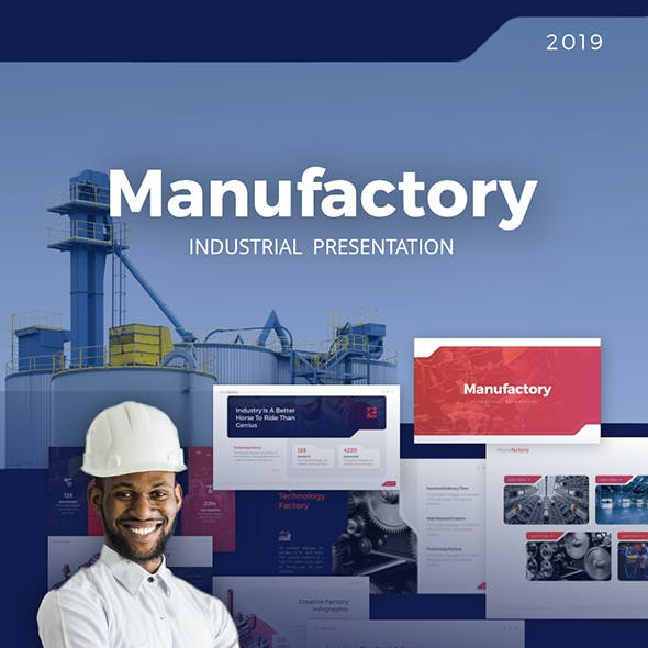 Manufactory Industry PowerPoint Template