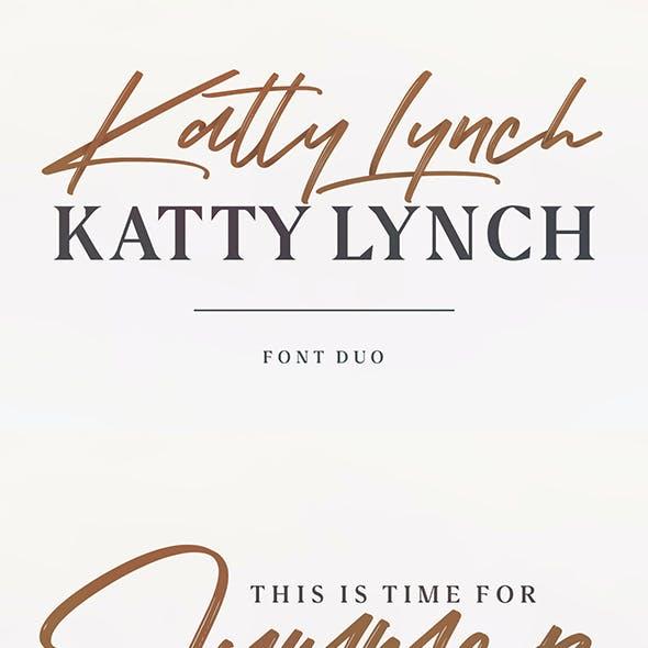 Katty Lynch Brush Font - Free Serif