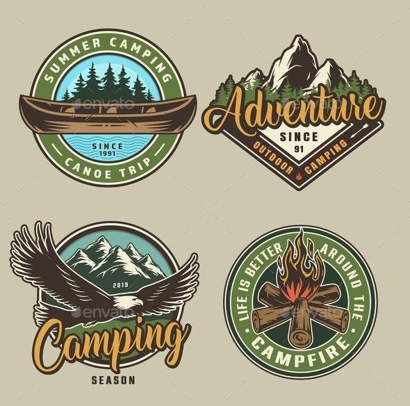 Camping Prints - Sports/Activity Conceptual