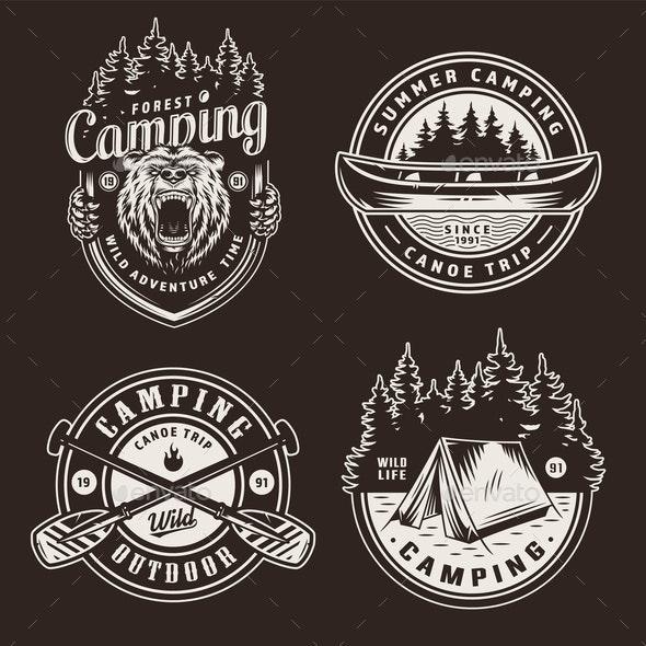 Summer Emblems - Miscellaneous Vectors