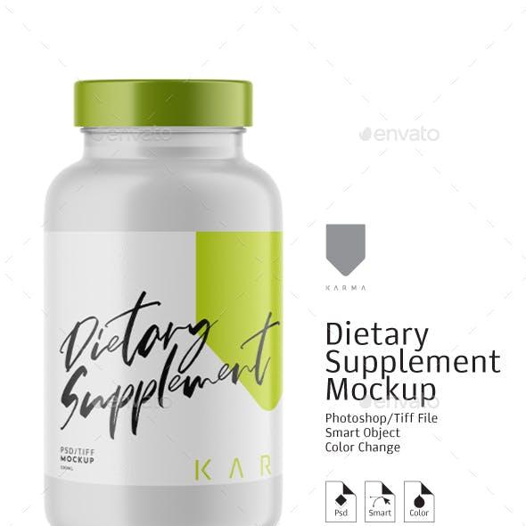 Dietary Supplement Mockup