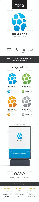 Human Robot Technologies Logo - Humans Logo Templates