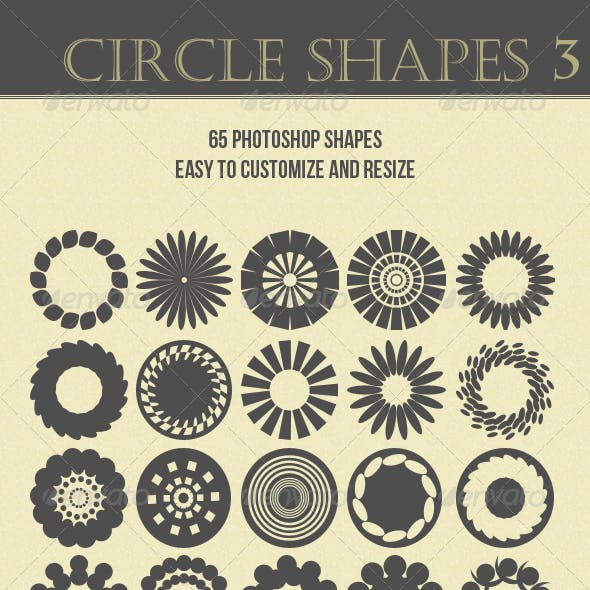 Circle Shapes 3