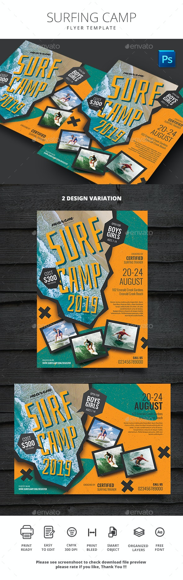 Surfing Camp - Sports Events