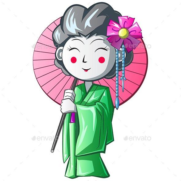 Geisha Character Design