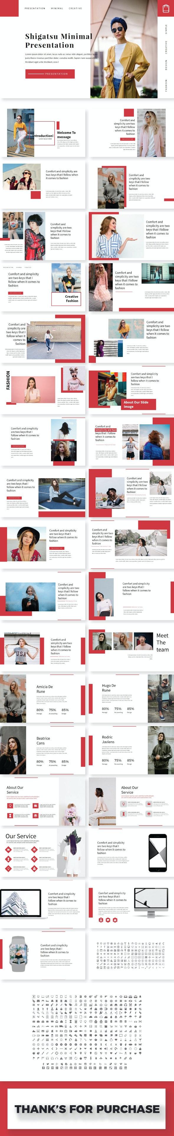 Shigatsu Google Slide Template - Keynote Templates Presentation Templates