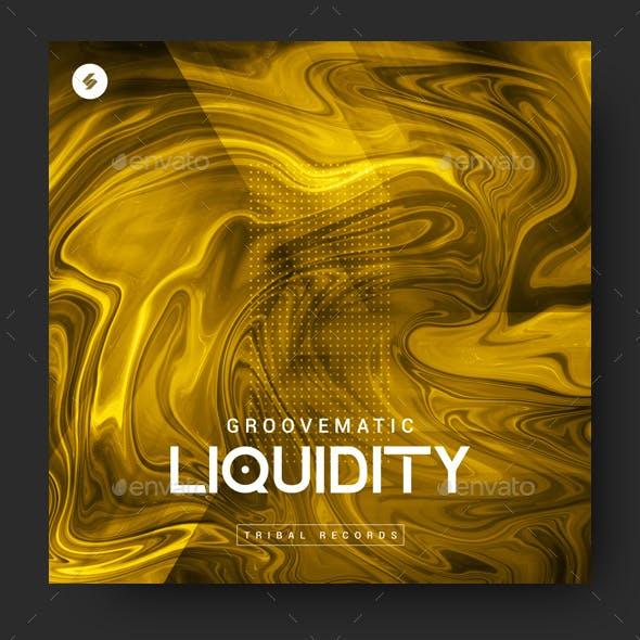 Liquidity - Music Album Cover Artwork Template