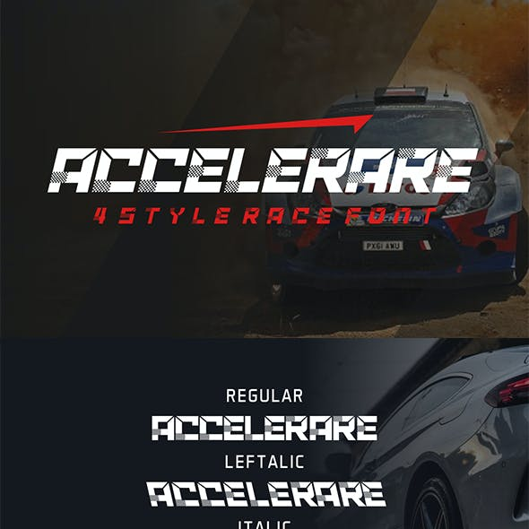 Accelerare Font Racing Speed