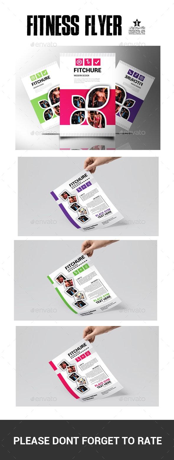 Firtness Flyer - Flyers Print Templates