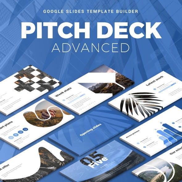 Pitch Deck Advanced Google Slides