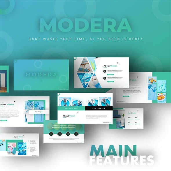 Modera Creative Business Powerpoint