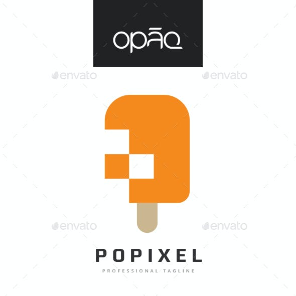 Popsicle Pixel Logo