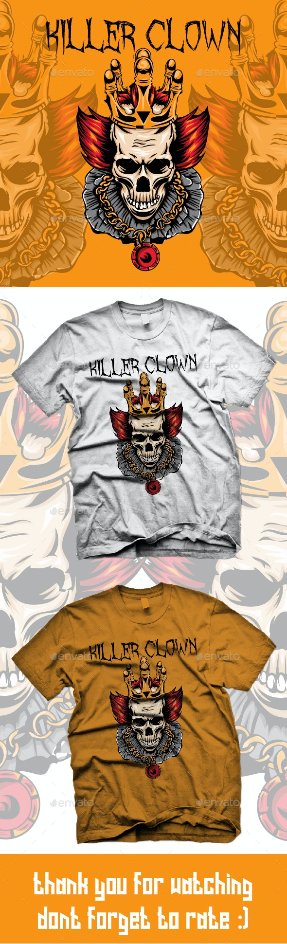 Killer Clown - T-Shirts
