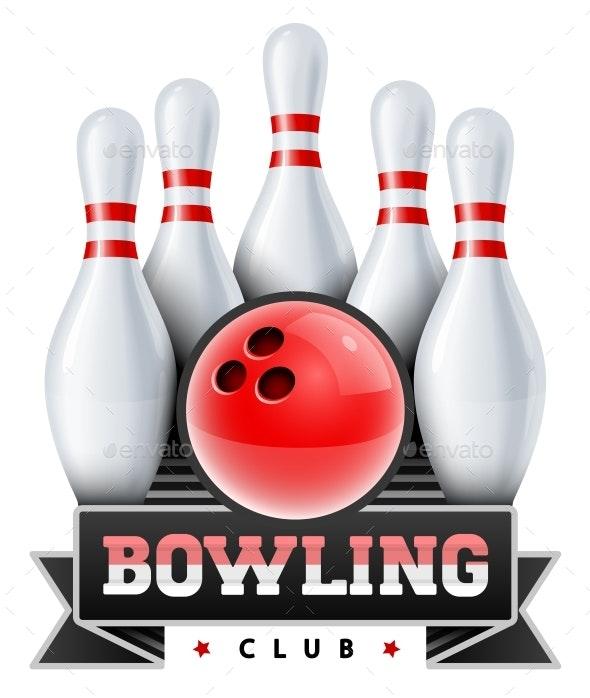 Bowling Club - Sports/Activity Conceptual
