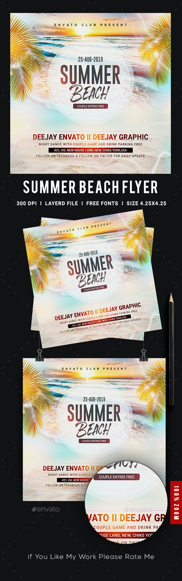 Summer - Events Flyers