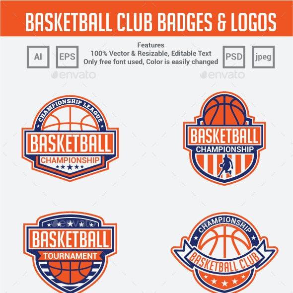 Basketball Club Badges & Logos