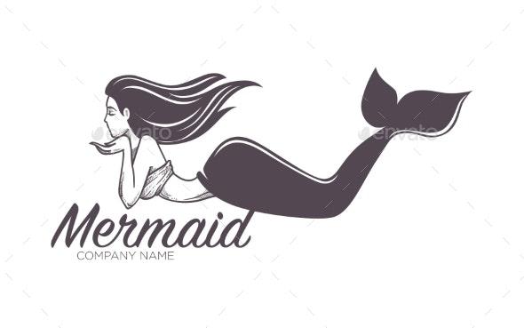 Mermaid Swimming - Animals Characters