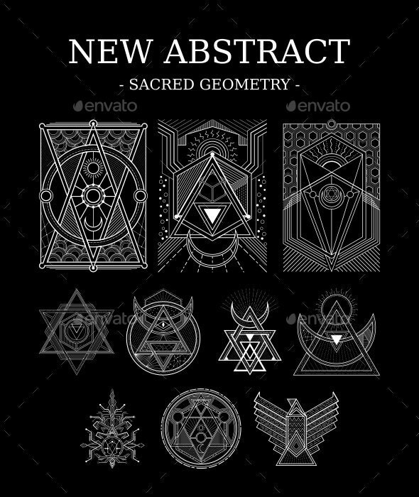 Abstract Sacred Geometry by azhartz | GraphicRiver