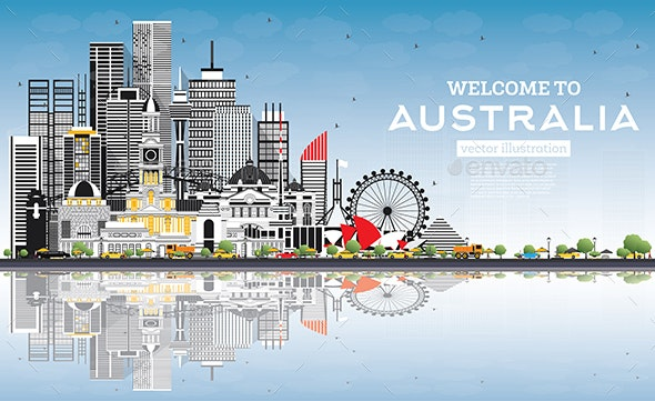 Welcome to Australia Skyline - Buildings Objects