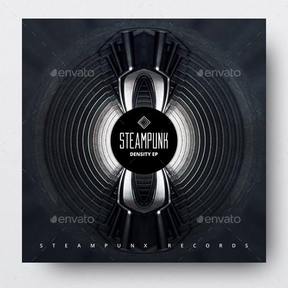 Steampunk - Music Album Cover Artwork Template