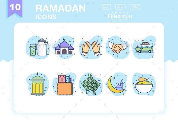 Ramadan kareem Icons - Filled - Icons