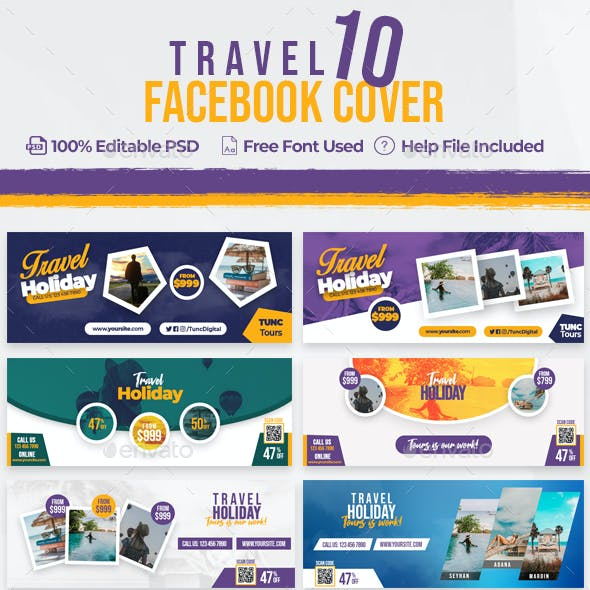 Travel 10 Facebook Cover