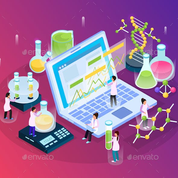 Isometric Research Glow Composition