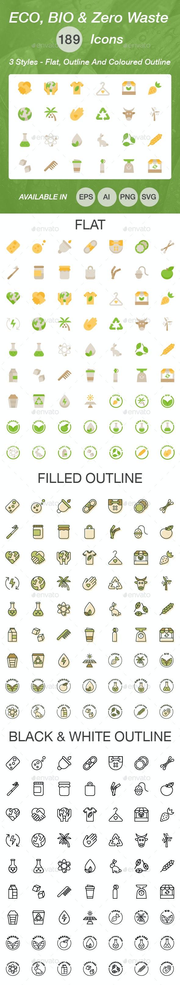 Ecology Icon Set - Miscellaneous Icons