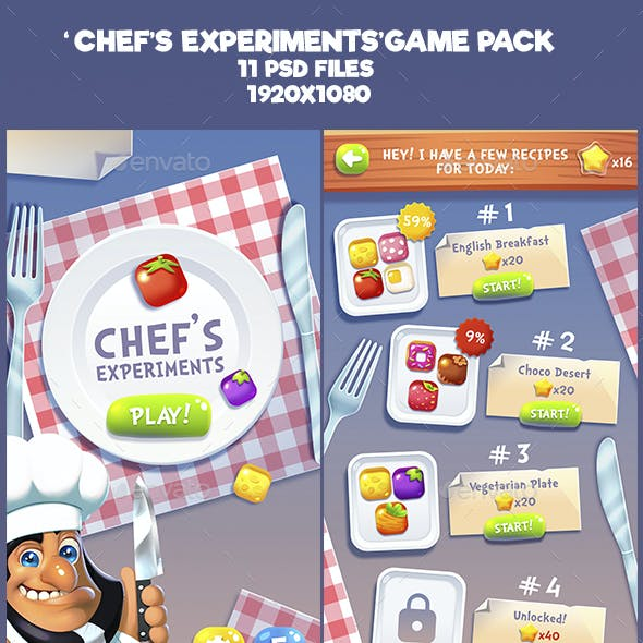 Chef Experiments Game Kit