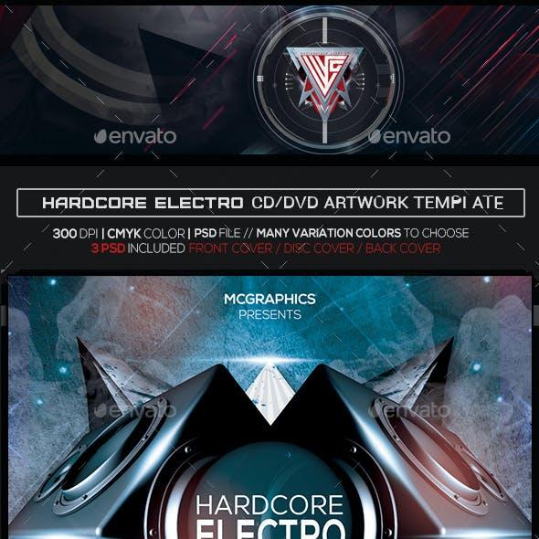Hardcore Electro Photoshop CD/DVD Template