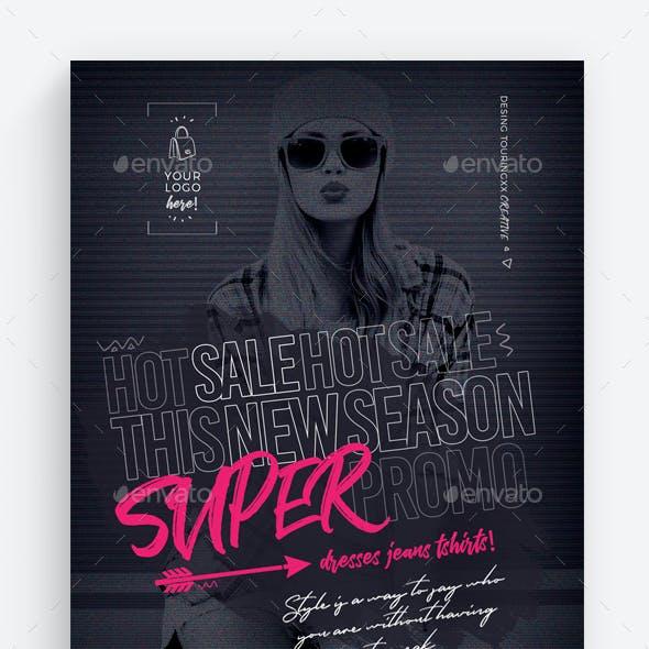 Super Promo Flyer Template