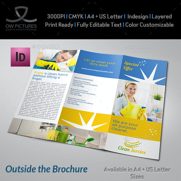 Cleaning Services Company Brochure Tri-Fo Vol.2
