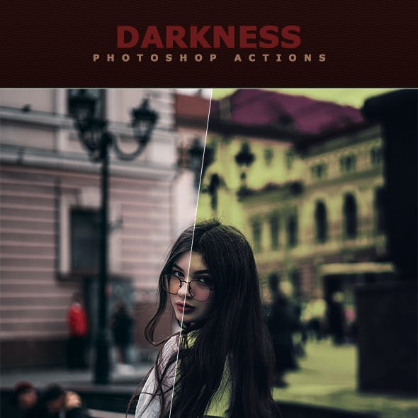 Darkness Photoshop Actions
