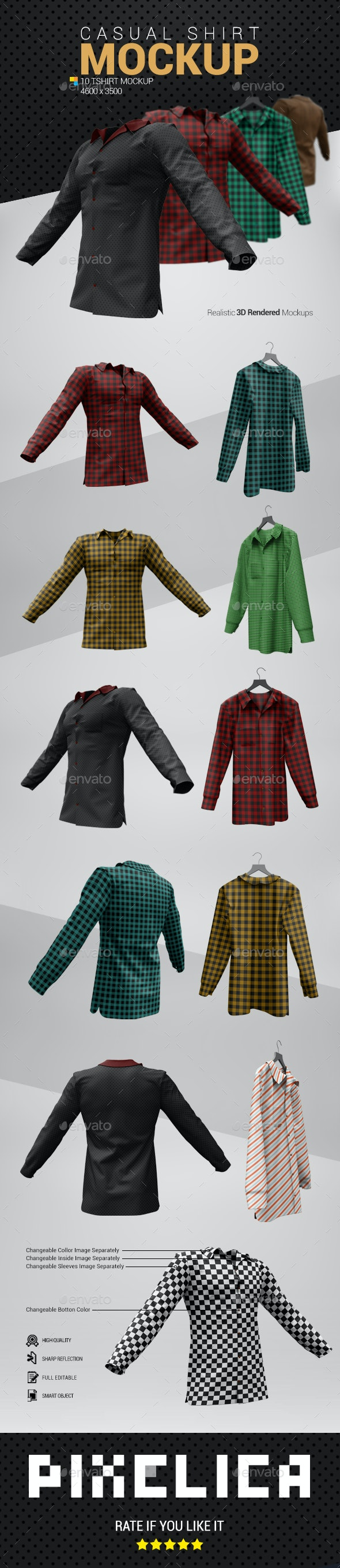 Shirt Mockup - Miscellaneous Apparel