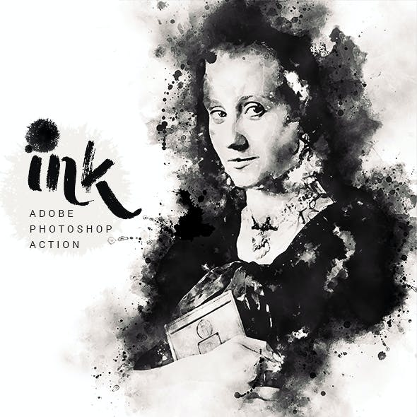 ink Art - Photoshop Action
