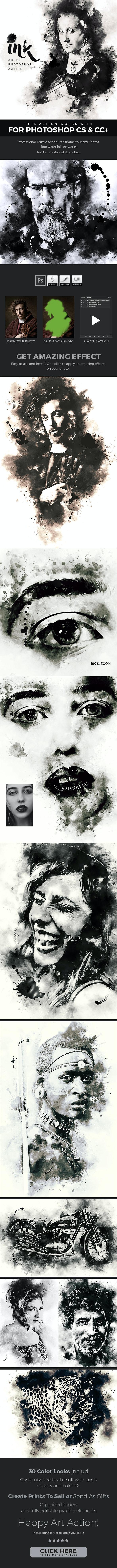 ink Art - Photoshop Action