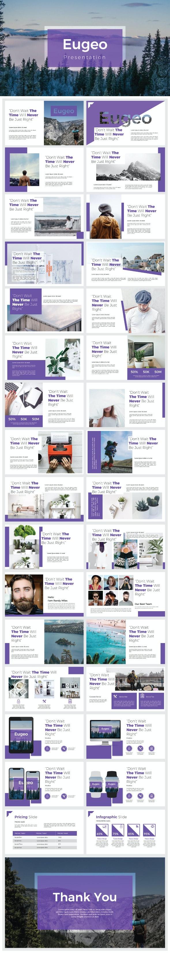 Eugeo - Presentation Templates - Creative PowerPoint Templates